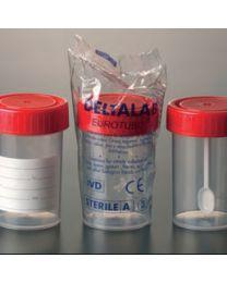 Frascos roscados en poliestireno 60 ml