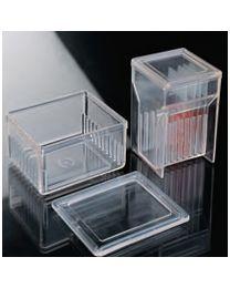 Cubetas de tinción con tapa para 10 portas – caja 4 un. tipo Schifferdecker