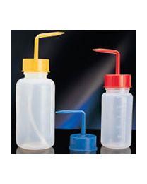 Botellas lavadoras graduadas en polietileno