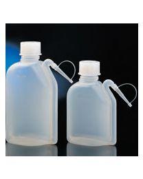 Botellas lavadoras integral estancas en polietileno translúcido