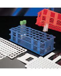 Gradillas desmontables agujero cuadrado con identificación alfanumérica
