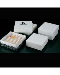Cajas de congelación de cartón premontadas en su interior
