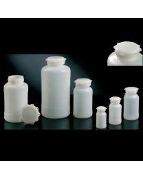 Botellas cilíndricas con tapón de estrella en polietileno de alta densidad