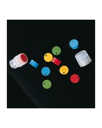 Plaquetas de identificación para tapones de crioviales estériles