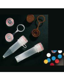 Tapón para microtubo a rosca 11 x 44 mm