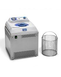 Autoclave para esterilizzación semiautomático Med 12L