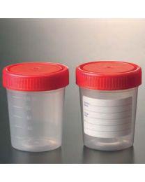Frasco muestras graduado 150 ml