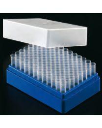 Sistema de archivo de muestras tubos 1,2 ml azul