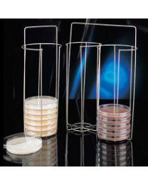 Cestos transporte de placas de Petri de hasta 100 mm Ø