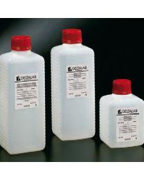 Botellas estériles de polietileno por radiación