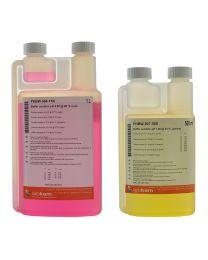 Buffer solution pH 4.00 @ 20 ºC (red) STD