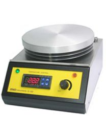 d-12d -stirrer with hotplate199mmø/dig.temp.control/temp.probe and support