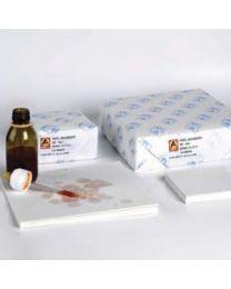 Papeles secantes para transporte de muestras