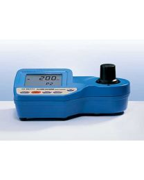 hi 96771c -chlorine,ultra-high range waterproof photometer/briefcase/reagents