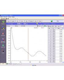 Software opcional para espectrofotómetro UV-VIS 1000
